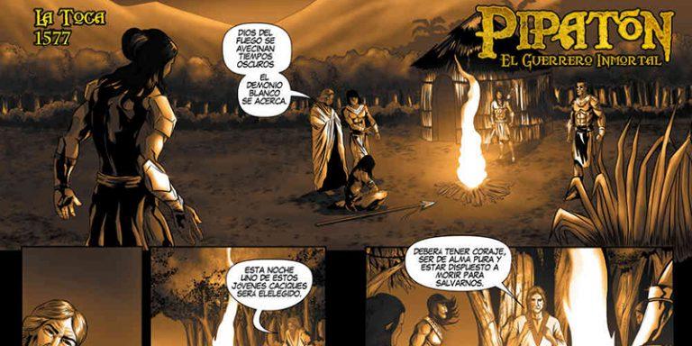 Historia de un superhéroe que no es convencional. Barranqueño crea comic Pipatón | EL FRENTE