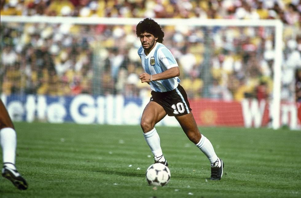 Maradona y las adicciones: más de 30 años haciendo    EL FRENTE