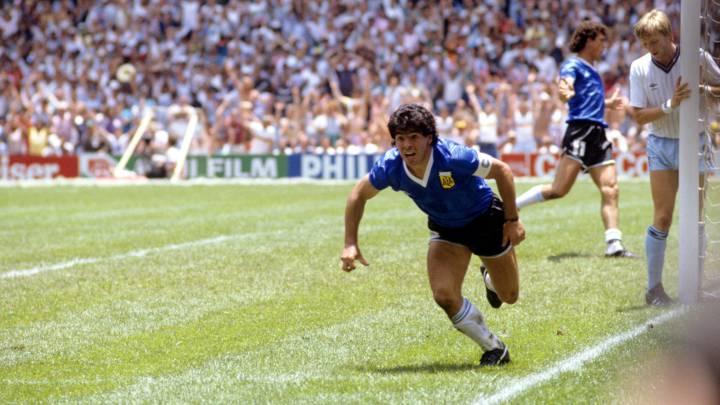 Maradona y el gol que cambió la historia del fútbol | EL FRENTE