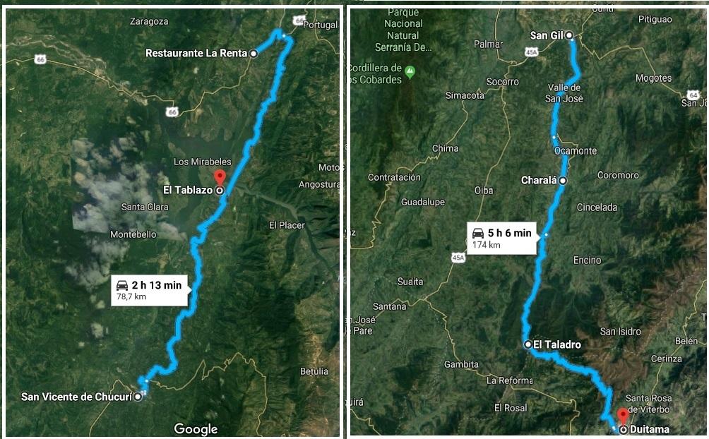 Sábado y domingo, cierre de vías de San Gil, Suaita y San Vicente de Chucurí | EL FRENTE