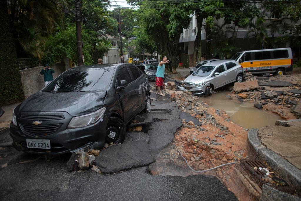 Temporal en barrios y favelas de Río de Janeiro   EL FRENTE