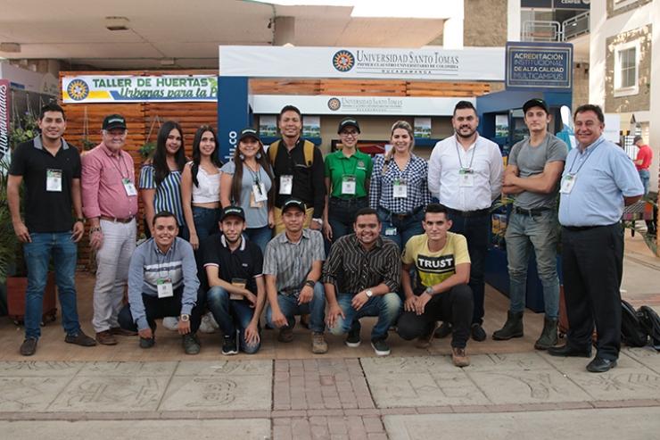 Agronegocios de la facultad de empresas Agropecuarias. La Santoto se destacó en la Agroferia 2019 | EL FRENTE