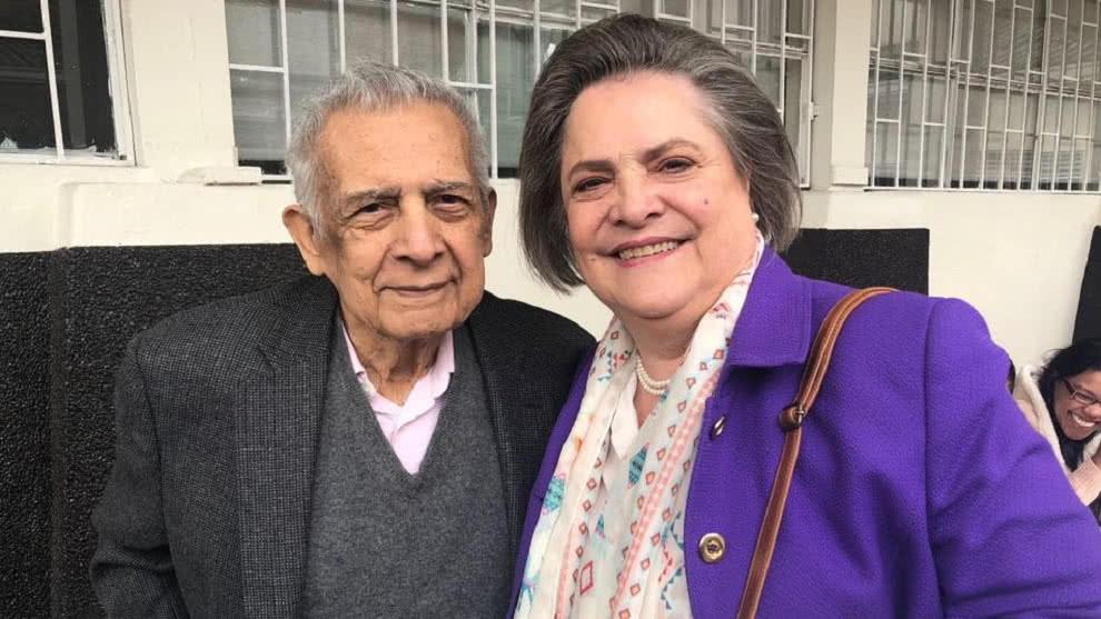 A los 86 años muere Carlos Romero, esposo de Clara López | EL FRENTE