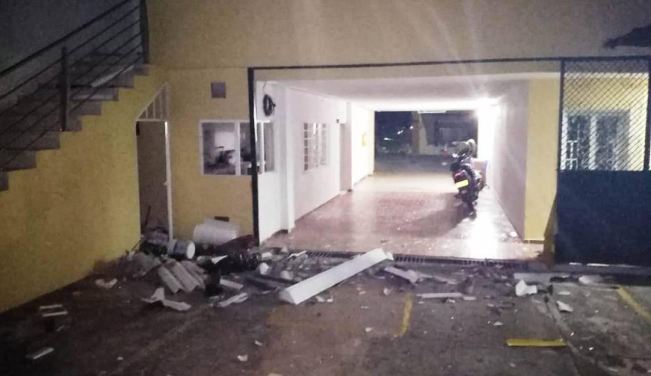 Con explosivos fue atacada sede de la Fiscalía en Ocaña, Norte de Santander   EL FRENTE