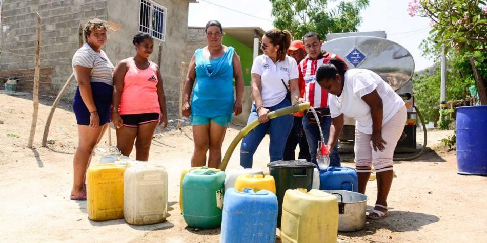 Por desabastecimiento de agua se extiende calamidad pública en Santa Marta   EL FRENTE