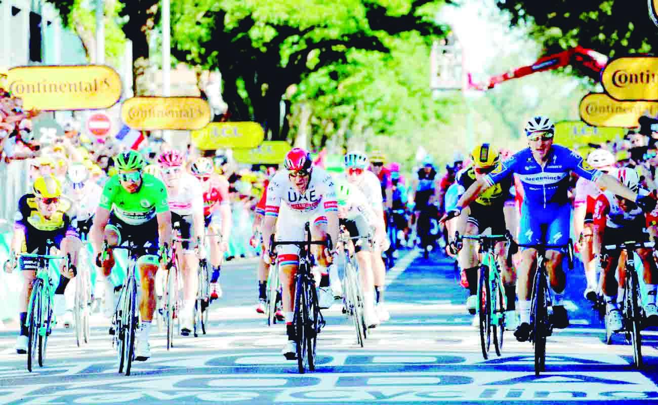 Elia Viviani ganó la cuarta etapa del Tour de Francia | EL FRENTE