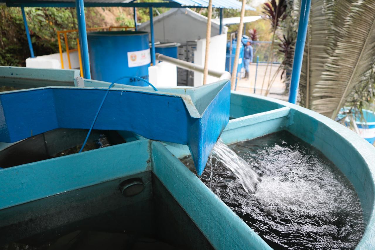 Optimizada planta de tratamiento. Agua potable en Tona 24 horas al día    | EL FRENTE