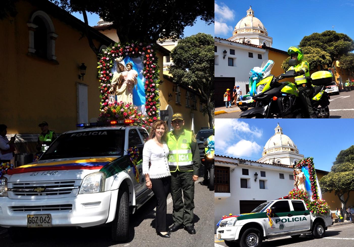 La Policía abrió la celebración del Día de la Virgen del Carmen  | EL FRENTE