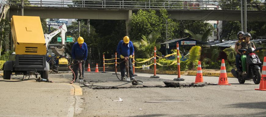 Dos empresas ejecutarán los $12.594 millones de la malla vial    EL FRENTE