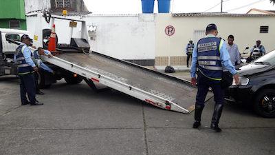 Inició purga en oficinas de  tránsito de Barrancabermeja   EL FRENTE