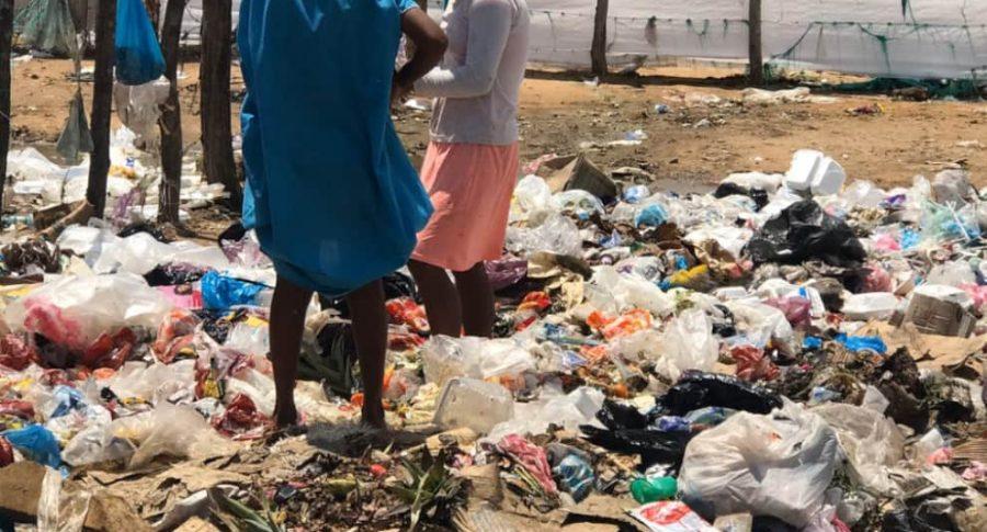 Niños Wayúu también comen de la basura, en La Guajira | EL FRENTE