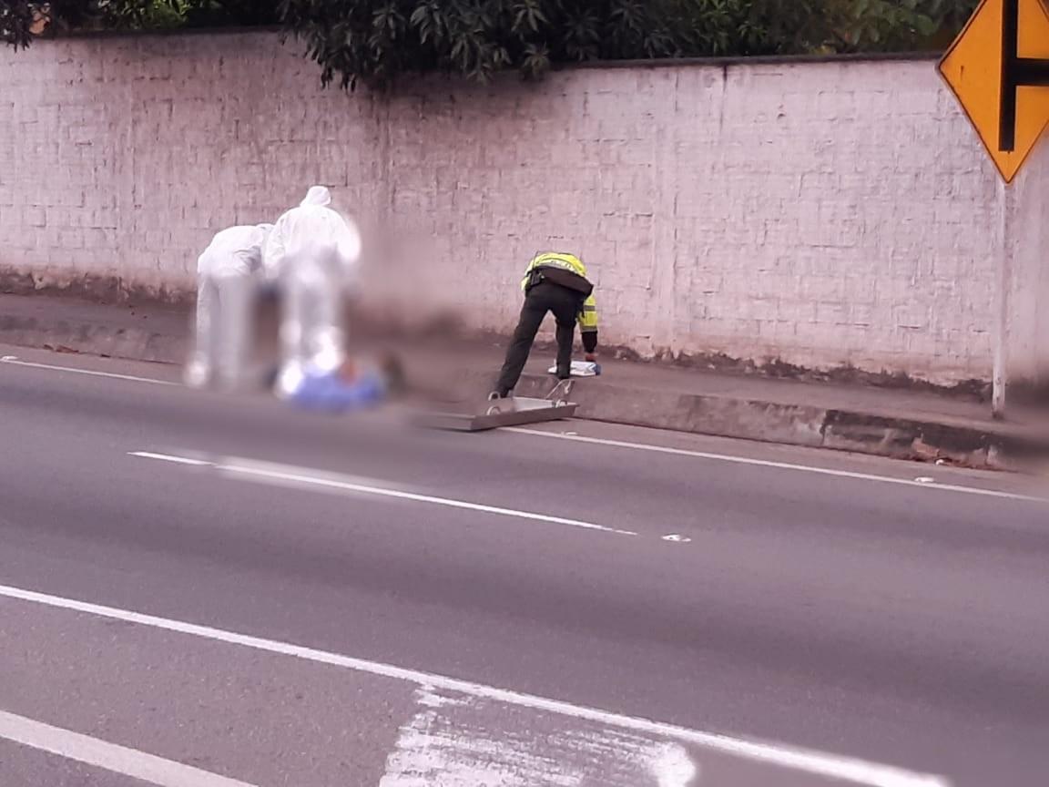 Peatón murió en accidente en retorno de Platacero | EL FRENTE