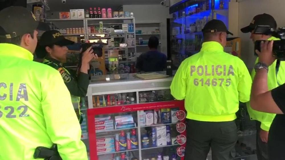 Droguería era usada para vender alucinógenos en el centro de Bucaramanga | EL FRENTE