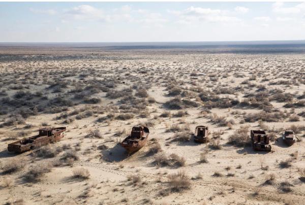 Seis países dependen de un mar que está a punto de convertirse en un desierto   EL FRENTE