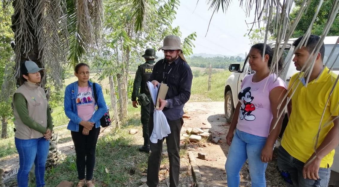 Restitución de tierras reivindicó Familia despojada en Simacota    EL FRENTE