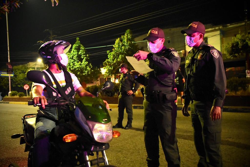 Operativos constantes en Barrancabermeja. Mano dura para quienes no acaten la cuarentena  | Municipios | Santander | EL FRENTE