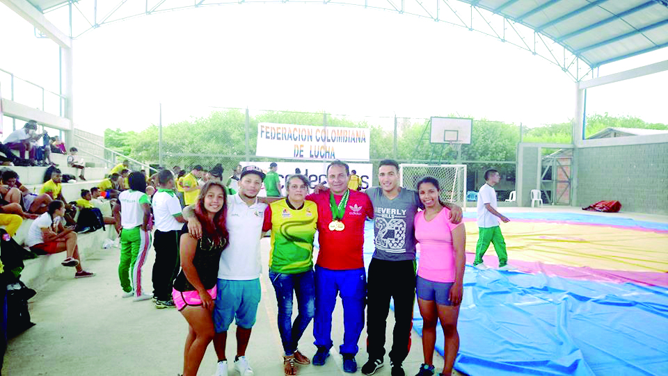 """Sergio Arias: """"la Lucha me lo ha dado todo…"""" Por: Hermes Díaz Correa/Redacción El Frente   Local   Deportes   EL FRENTE"""