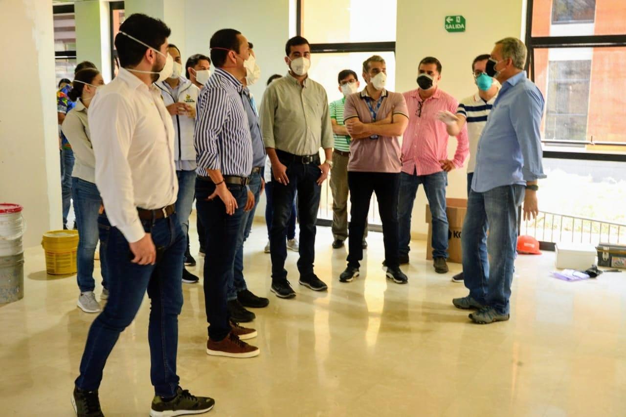 Edificio se habilitará con 123 camas. Nueva sede UIS Floridablanca recibirá pacientes con Covid-19 | Región | Santander | EL FRENTE