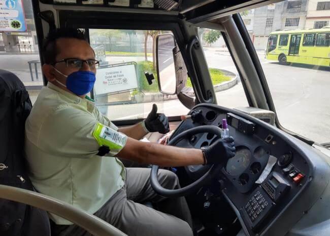 Usuarios de Metrolínea deben usar tapabocas o no podrán acceder | Bucaramanga | Metro | EL FRENTE