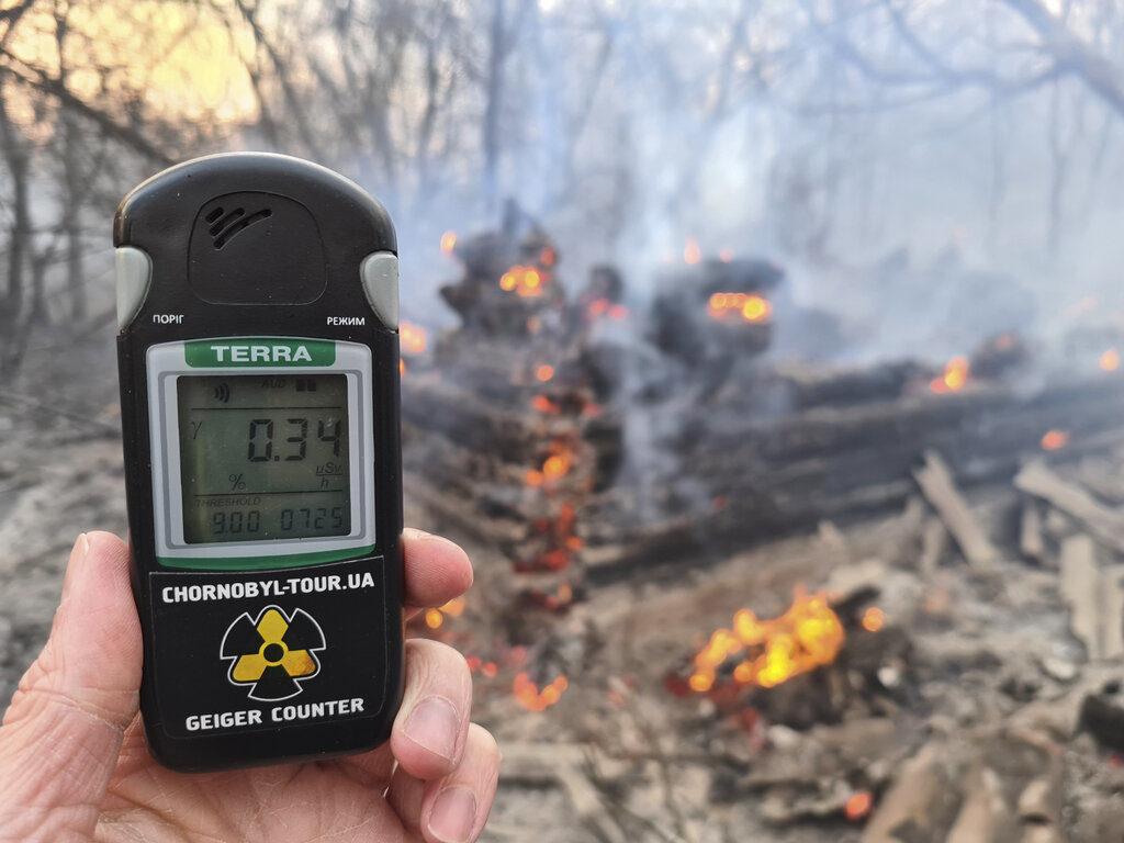 Incendio cerca de Chernobyl provoca fuerte aumento radioactividad   Mundo   EL FRENTE