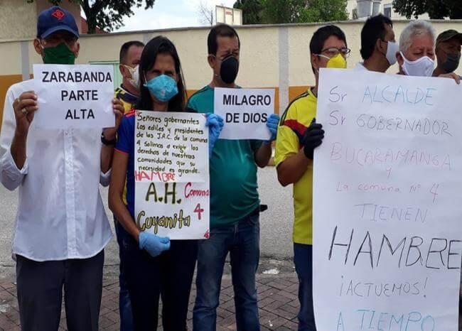 Líderes comunales son amenazados por ayudas que prometió la alcaldía | Bucaramanga | Metro | EL FRENTE