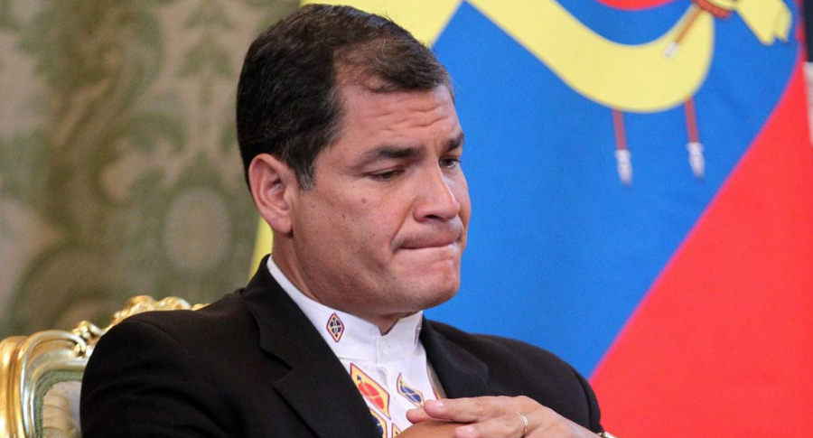 Expresidente de Ecuador Rafael Correa condenado a 8 años de cárcel | Noticias | Mundo | EL FRENTE