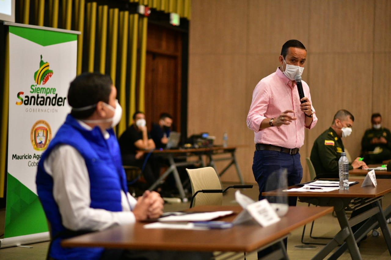 Mesa de concertación en Santander. Reapertura económica gradual tema con Alcaldes regionales | Región | Santander | EL FRENTE
