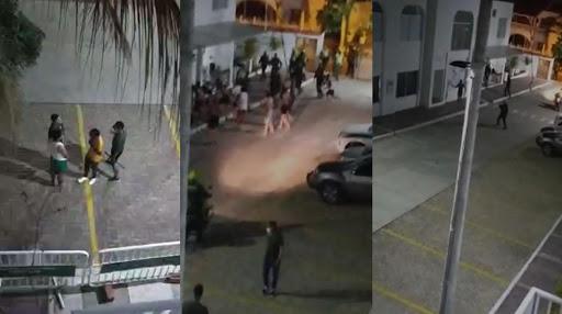 Auxiliares de la Policía convirtieron centro vacacional en rin de boxeo | Colombia | EL FRENTE