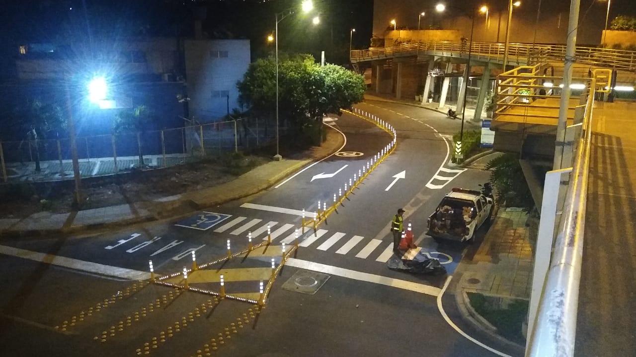 Corredor doble sentido de entrada al C.C. Caracolí fue habilitado | Metro | EL FRENTE