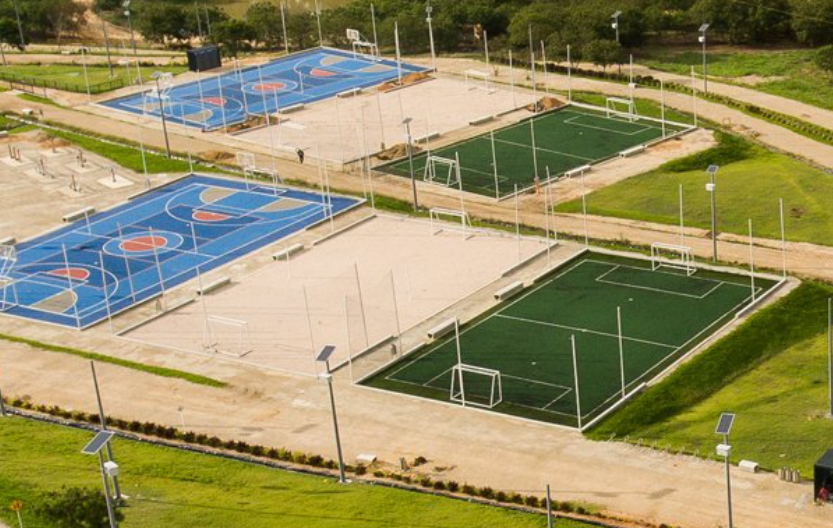 Con energía solar funciona el Parque Contemplativo El Carrasco | Metro | EL FRENTE