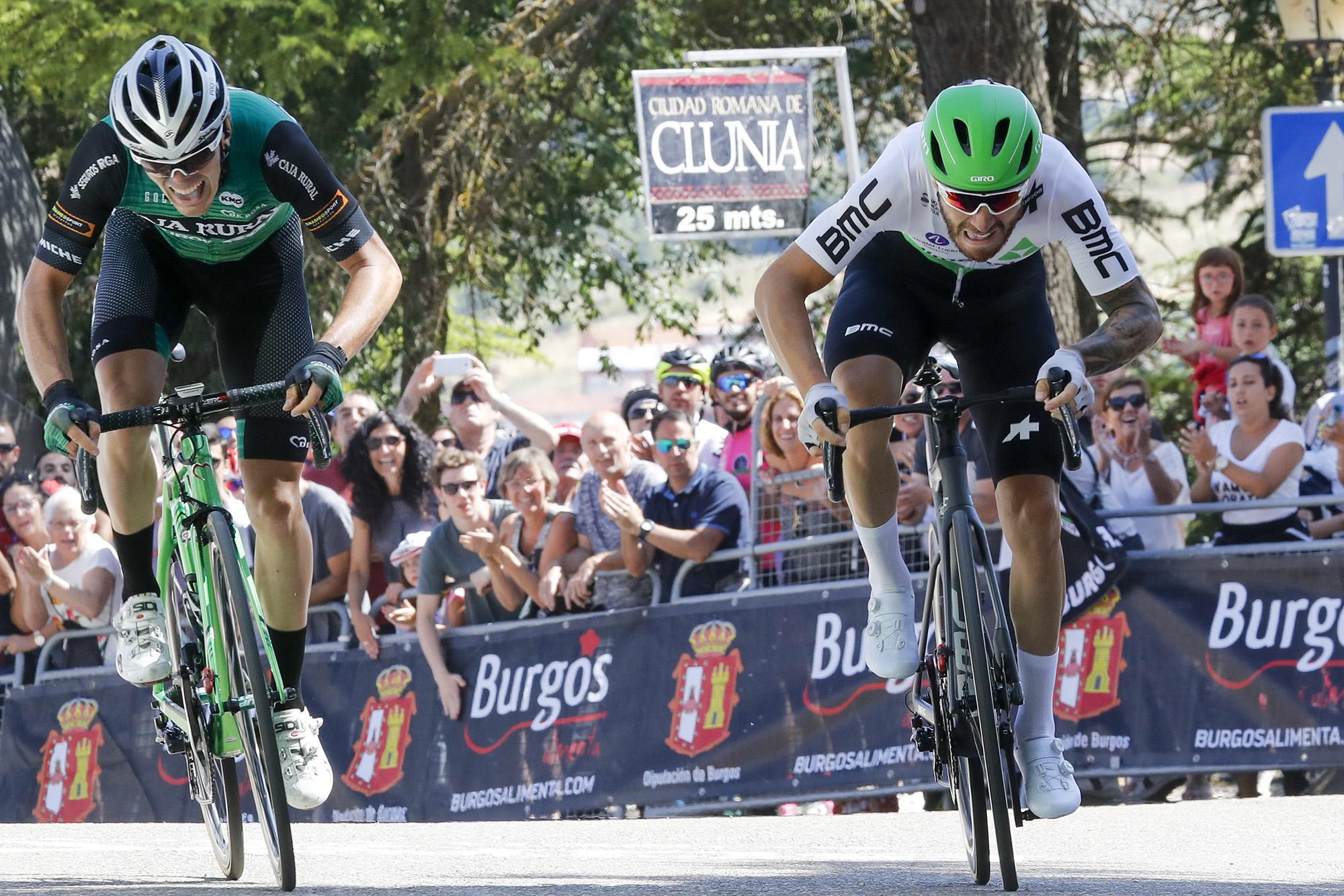 Vuelta a Burgos primera prueba ciclista pos pandemia  | Deportes | EL FRENTE