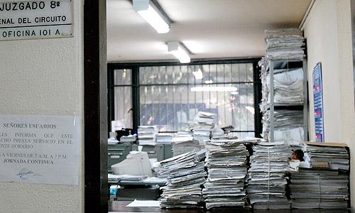 De cada 100 procesos judiciales 50 se quedan en el camino | EL FRENTE