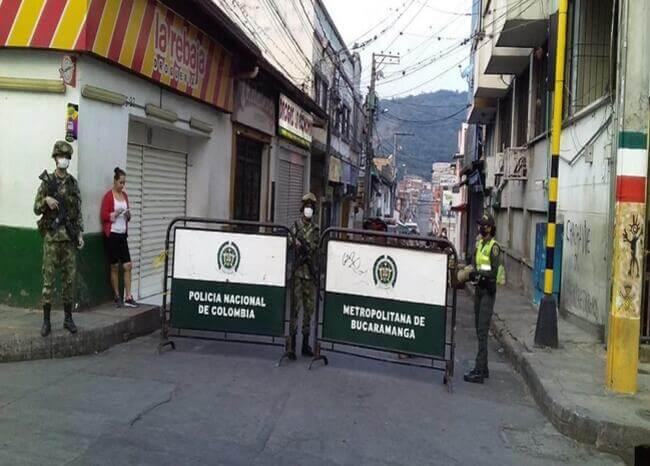 Cierran plaza de mercado de Piedecuesta tras fallecer 2 personas de COVID 19 | Piedecuesta | Metro | EL FRENTE