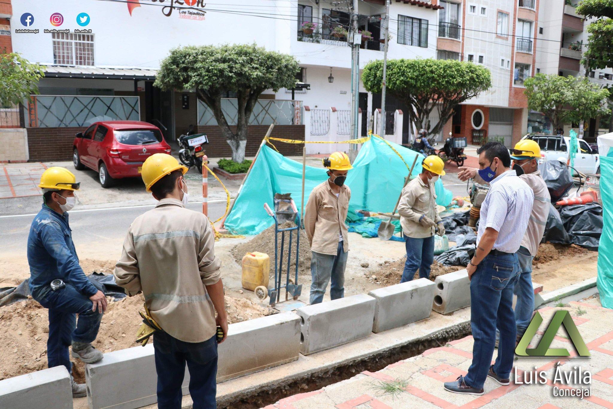 Comunidad denuncia arbitrariedad en la construcción de ciclorrutas | Bucaramanga | Metro | EL FRENTE