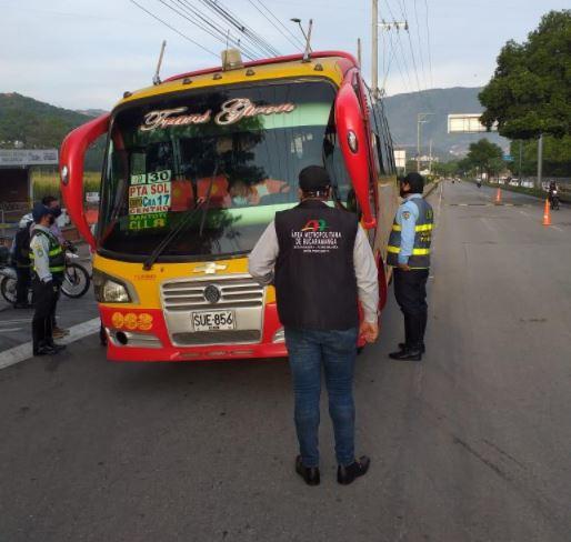 En la mira buses que excedan capacidad de pasajeros | Bucaramanga | Metro | EL FRENTE
