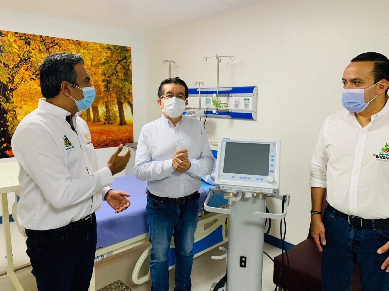 Minsalud entregó 10 respiradores mecánicos en Barrancabermeja  | Política | EL FRENTE