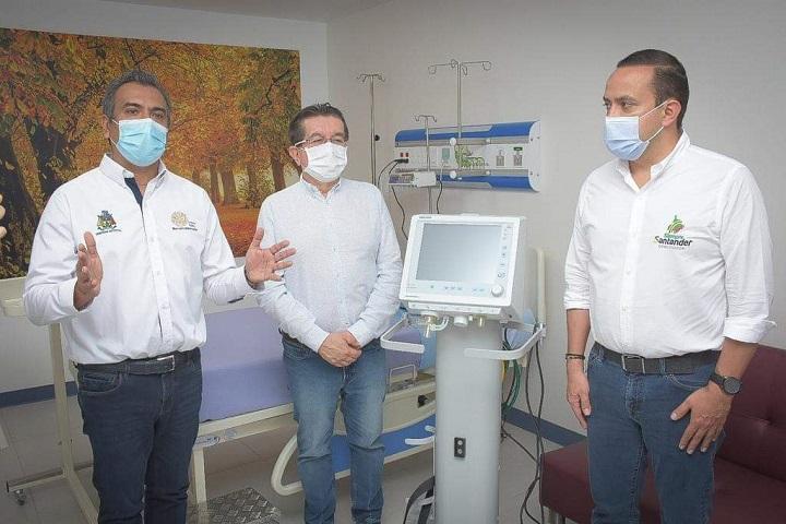 Fortalecida la capacidad de las UCI en Barrancabermeja. MinSalud entregó diez ventiladores mecánicos | Municipios | Santander | EL FRENTE