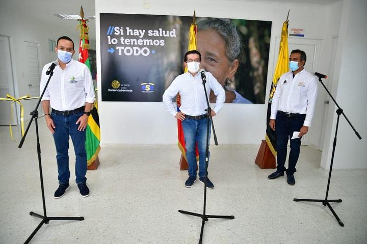 Beneficio dirigido para 85.000 barranqueños. Inaugurado el remodelado Centro de Salud Danubio  | Municipios | Santander | EL FRENTE