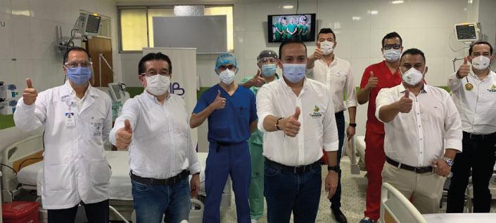 Apoyo a primera línea de ataque contra el Covid-19: los médicos bumangueses | Política | EL FRENTE