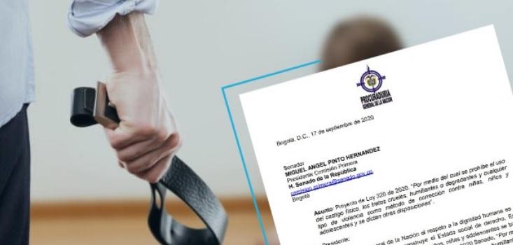 Piden a senador Pinto darle el sí a la prohibición del castigo a los niños | Local | Política | EL FRENTE