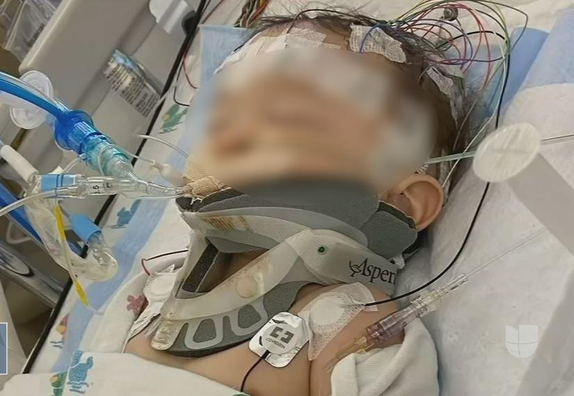 Bebé sufrió derrame cerebral tras brutal agresión de su padre | EL FRENTE