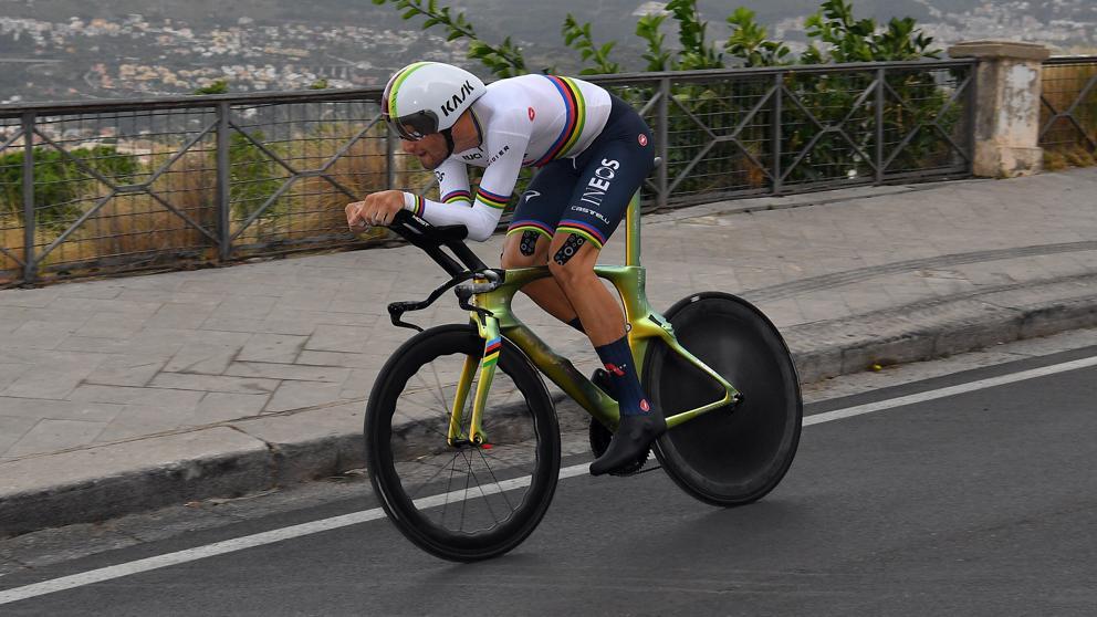 Filippo demuestra su categoría al cronometro   EL FRENTE