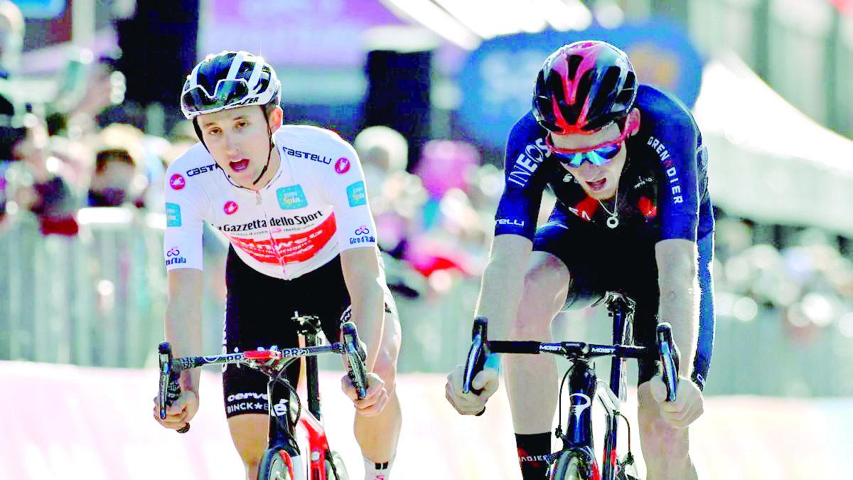 El emotivo e inédito final del Giro de Italia | Internacional | Deportes | EL FRENTE