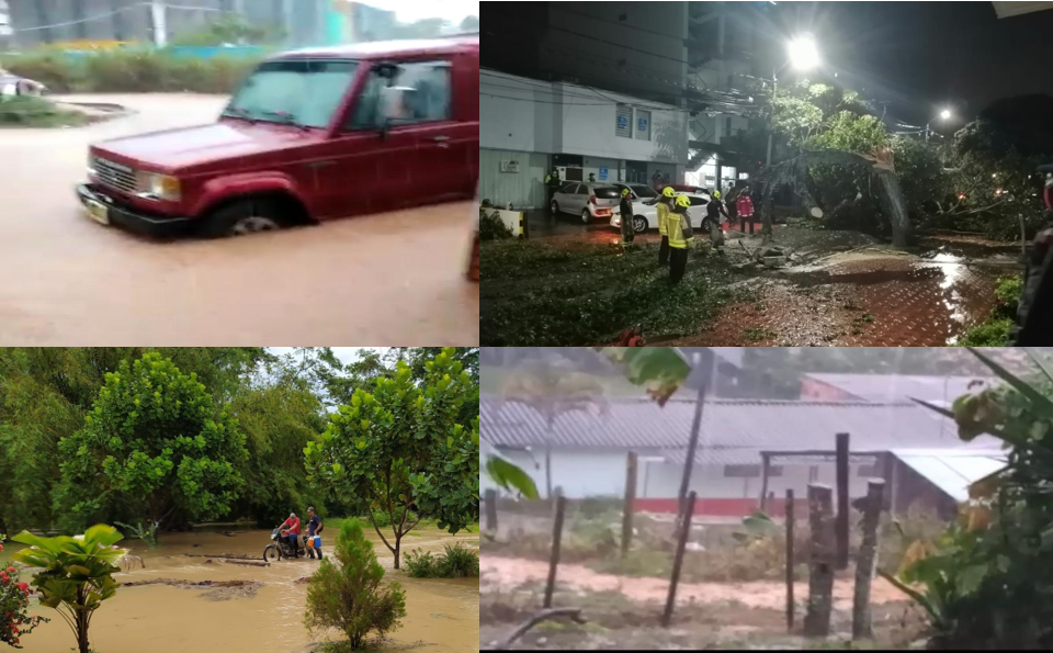 Fuertes lluvias causaron daños en diferentes municipios de Santander | Local | Justicia | EL FRENTE