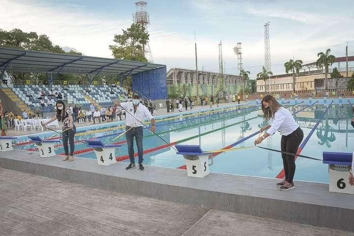 Proyección de Barrancabermeja como eje deportivo. Inaugurada la piscina olímpica del Inderba | Santander | EL FRENTE