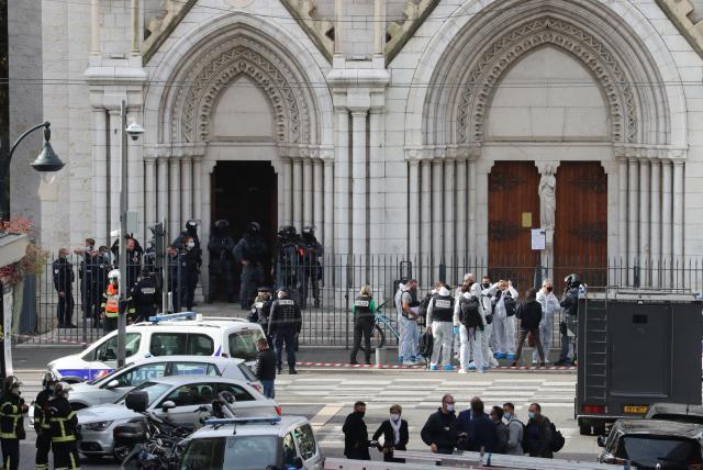 Atentado terrorista en Niza dejó tres muertos   foto   EL FRENTE