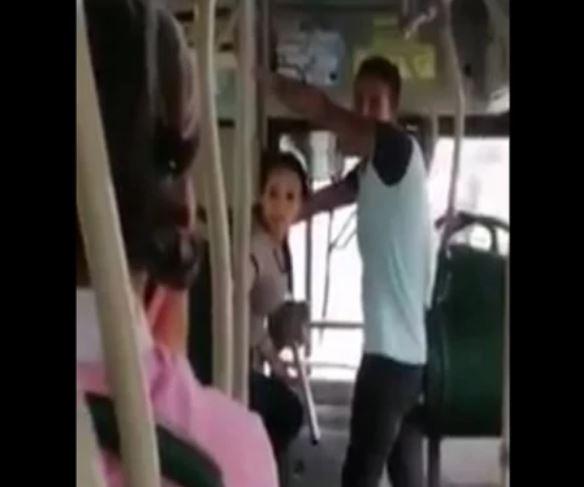 De algo nos tenemos que morir: dijo mujer sin tapabocas en Metrolínea | Bucaramanga | Metro | EL FRENTE
