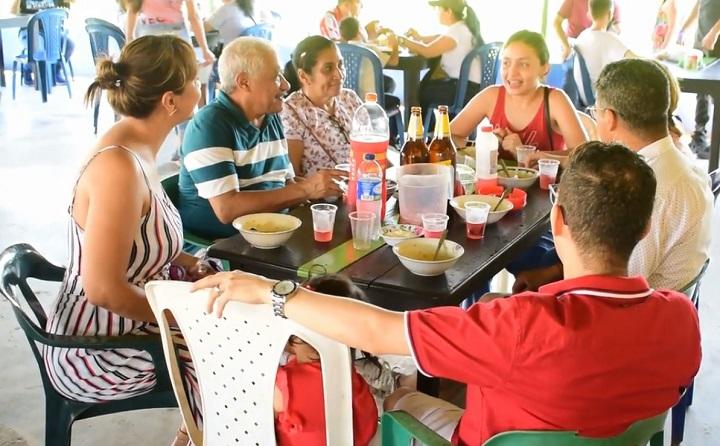 Gran respuesta de la comunidad barranqueña. Vendidos 4.260 platos en el Festival Gastronómico | EL FRENTE