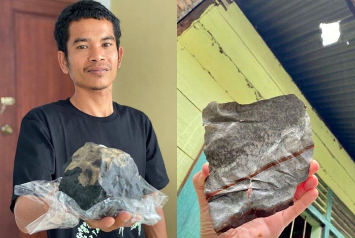 Cayó un meteorito en su casa y se convirtió en millonario | EL FRENTE