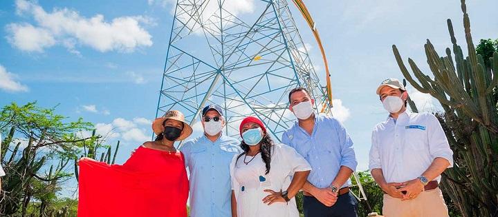 Transformación para el departamento . Fue inaugurado un refuerzo eléctrico en Maicao Guajira | EL FRENTE